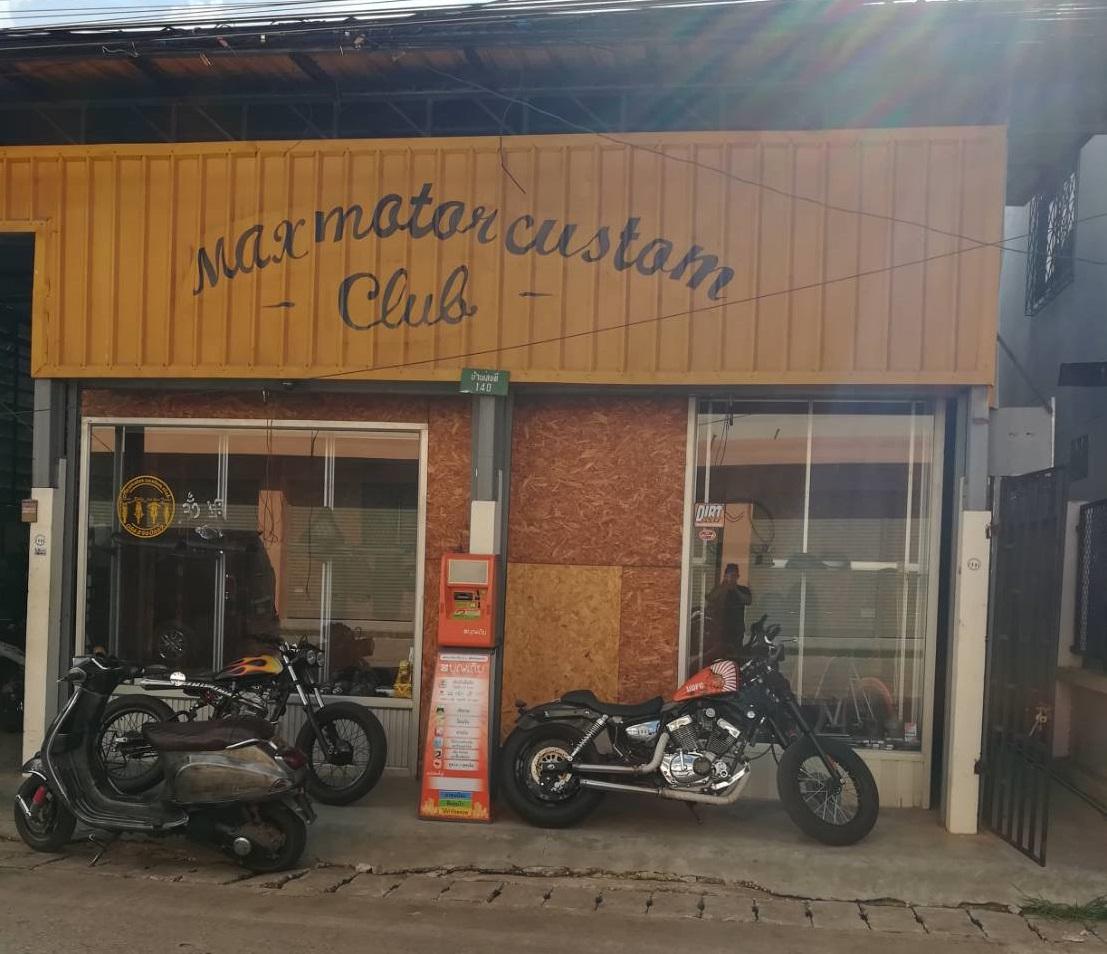 คุณมานิตย์ ร้าน Maxmotor Custom Club จ.อุดรธานี